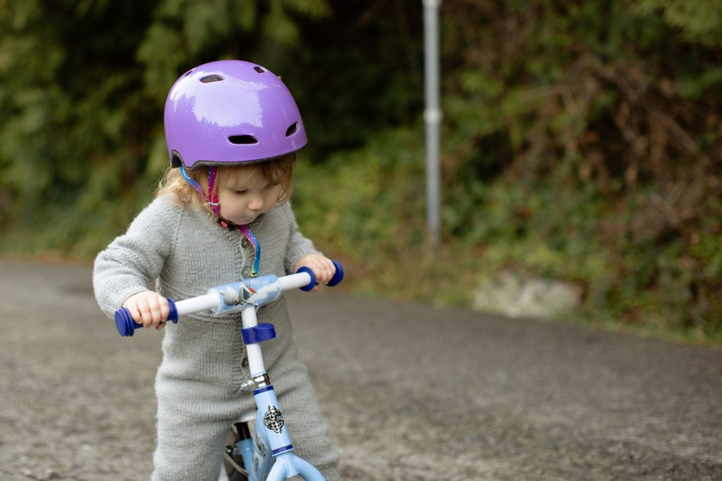 rower dziecko